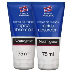 Chollo - Crema de manos Neutrógena máxima absorción 2x75ml.