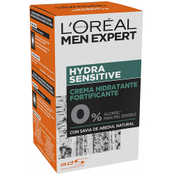 Chollo - Crema hidratante fortificante L'Oréal Men Expert Hydra Sensitive 50ml