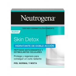 Crema Hidratante Neutrogena Skin Detox Doble Acción