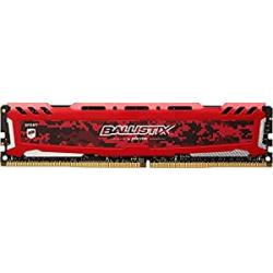 Chollo - Crucial Ballistix Sport LT Red DDR4 16GB 2400Mhz CL16 Dual Rank
