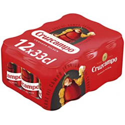 Chollo - Cruzcampo Pilsen Cerveza Lata Pack 12x 33cl