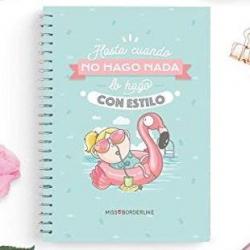 Chollo - Cuadernos Missborderlike A4 Tapa Dura