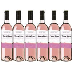 Chollo - Cuatro Rayas Blush Rosé DO Rueda Vino rosado Pack 6x 75cl