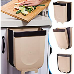 Chollo - Cubo de basura colgante plegable TTMOW (9L) - TTM-2020-0903