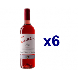Chollo - Cune Rosado DO Rioja Vino tinto Pack 6x 75cl