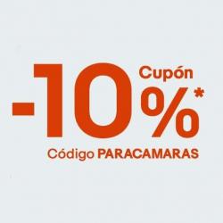 Cupón 10% de Descuento para Cámaras y Accesorios