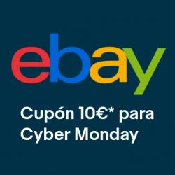 Chollo - Cupón 10€ en eBay para Cyber Monday 2020
