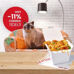 Chollo - Cupón 11% de Descuento para Just Eat