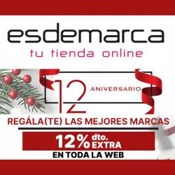 Chollo - Cupón -12% para Esdemarca (toda la web)