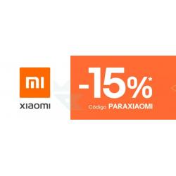 Chollo - Cupón -15% Selección Xiaomi