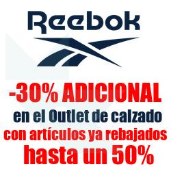 Chollo - Cupón -30% Extra en el Outlet de Calzado de la Tienda Oficial Reebok