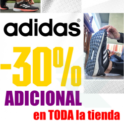 Chollo - Cupón -30% Extra para TODA la Tienda Oficial Adidas
