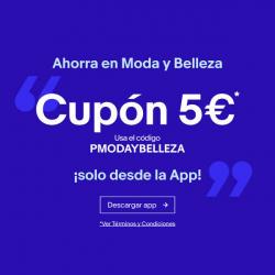 Chollo - Cupón 5€ en Moda y Belleza de eBay