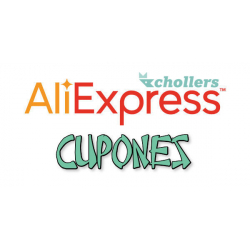 Chollo - Cupón Aliexpress -$8.00