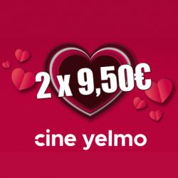 Chollo - Cupón Yelmo Cines por San Valentín