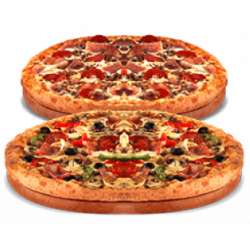 Chollo - Cupón Domino's Pizza 2 Medianas Domicilio (hasta 3 ingredientes)