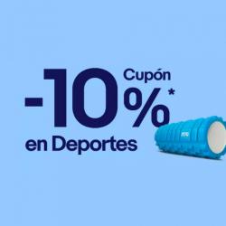 Chollo - Cupón eBay -10% en Deportes