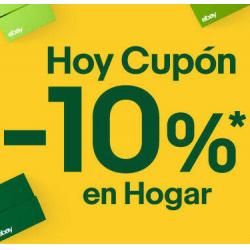 Chollo - Cupón eBay (-10% Extra en Hogar)