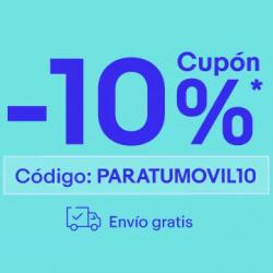 Chollo - Cupón eBay -10% Extra en Móviles y Accesorios