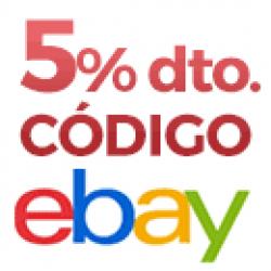 Chollo - Cupón Ebay (-5% Extra)