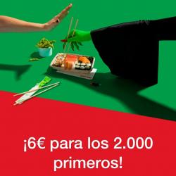Chollo - Código Just Eat (-6€)
