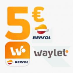 Chollo - Cupón Repsol Waylet -5€