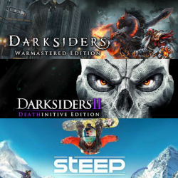 Chollo - Gratis Darksiders Warmastered Edition +  Darksiders II Deathinitive Edition + Steep para PC