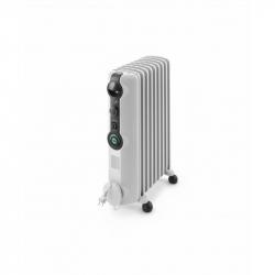 Chollo - De'Longhi Radiador De Aceite Radia S TRRS0920C. Calefactor Eléctrico Portátil Silencioso. Ruedas Plegables. 2.000 W
