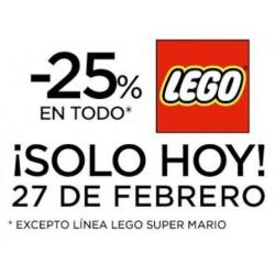 Chollo - Descuento -25% en TODO LEGO