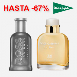 Chollo - Descuentos hasta -67% en Perfumes de Hombre y de Mujer en El Corte Inglés