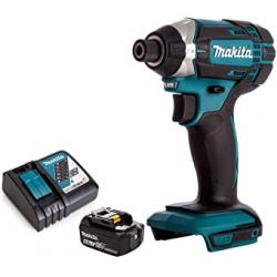 Chollo - Destornillador de Impacto Makita 18V + Batería y Cargador