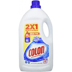 Chollo - Detergente Colon Blancura Impecable 90 lavados