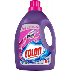 Chollo - Detergente Colon Vanish Powergel 40 lavados