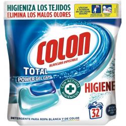 Chollo - Detergente en cápsulas Colon Higiene 32 lavados