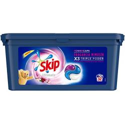 Chollo - Detergente en cápsulas Skip Ultimate Fragancia Mimosín (65 lavados)
