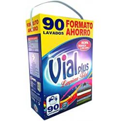 Chollo - Detergente en Polvo Vialplus Limpieza Total (90 lavados)