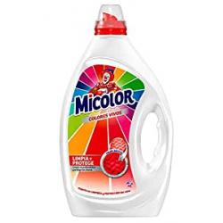 Chollo - Detergente Líquido Micolor Colores Vivos (40 Lavados)