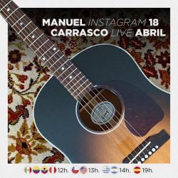 Chollo - Directo de Manu Carrasco en Instagram (18/04/20)