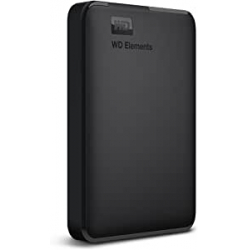 "Chollo - Disco duro externo 1.5TB WD Elements Portable 2.5"" USB3.0 - WDBU6Y0015BBK-WESN"
