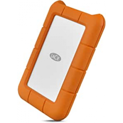 "Chollo - Disco duro portátil LaCie Rugged 1TB 2.5"" USB-C - STFR1000800"