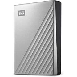 "Chollo - Disco duro portátil My Passport Ultra para Mac 4TB 2.5"" USB-C - WDBPMV0040BSL-WESN"