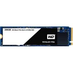 Chollo - Disco duro SSD 256GB WD Black M.2 PCIe NVMe - WDS256G1X0C