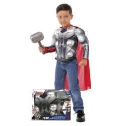 Chollo - Disfraz infantil Thor Marvel Avengers Pecho Musculoso y Martillo - 34104