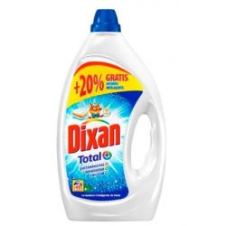 Chollo - Dixan gel Total detergente líquido para lavar ropa en lavadora 48 Lavados