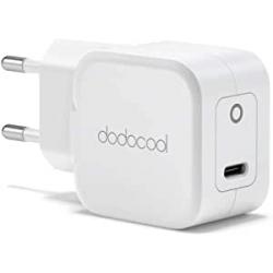 Chollo - Dodocool DC201 20W USB-C Cargador de pared con Power Delivery