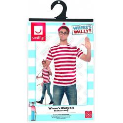 Chollo - ¿Dónde está Wally? Disfraz oficial unisex | Smiffys 42924