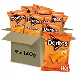 Chollo - Doritos Tex-Mex Queso Pack 9x 140g