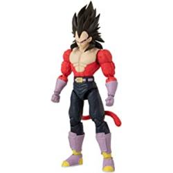 Chollo - Dragon Ball Figura Deluxe Vegeta Super Saiyan 4   Bandai 36193