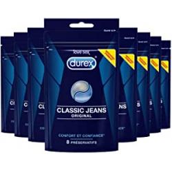 Chollo - Durex Classic Jeans Pack 64 Preservativos