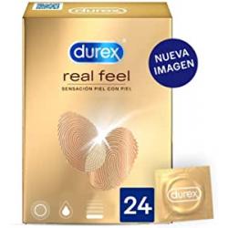 Chollo - Durex Real Feel sensación piel con piel Preservativos Caja 24x | 3119232